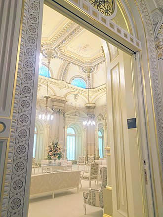 Degrees of glory - Celestial rooms in LDS temples represent the celestial kingdom