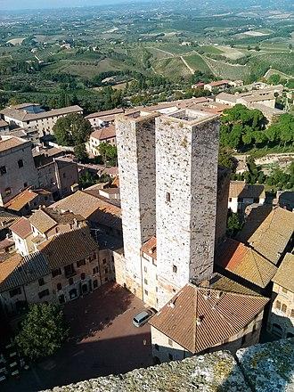 San Gimignano - Salvucci Towers.