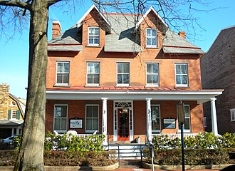 Samuel Barber - Childhood home of Samuel Barber in West Chester, Pennsylvania