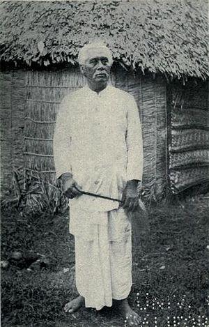 Mata'afa - Image: Samoan paramount chief Mataafa 1911