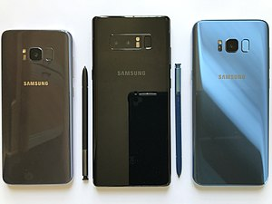 Samsung Galaxy - Samsung smartphones (back)