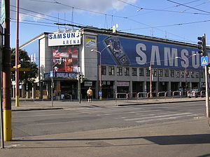 Ondrej Nepela Arena - The arena in 2007