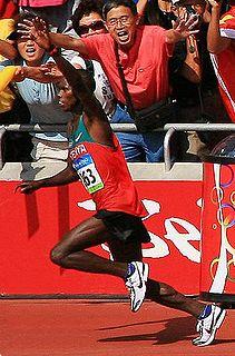 Samuel Wanjiru Kenyan long-distance runner