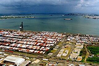 Port of San Juan Seaport facility in Puerto Rico