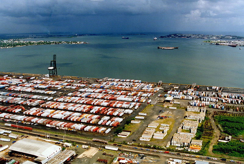 File:San Juan Port with Cargo.jpg