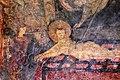 San lorenzo in insula, cripta di epifanio, affreschi di scuola benedettina, 824-842 ca., martirio di san lorenzo 03.jpg