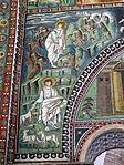 San vitale, ravenna, int., presbiterio, mosaici di dx 04 storie di mosè 01.JPG