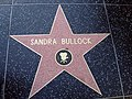 Sandra Bullocks Star on the Hollywood Walk of Fame.JPG