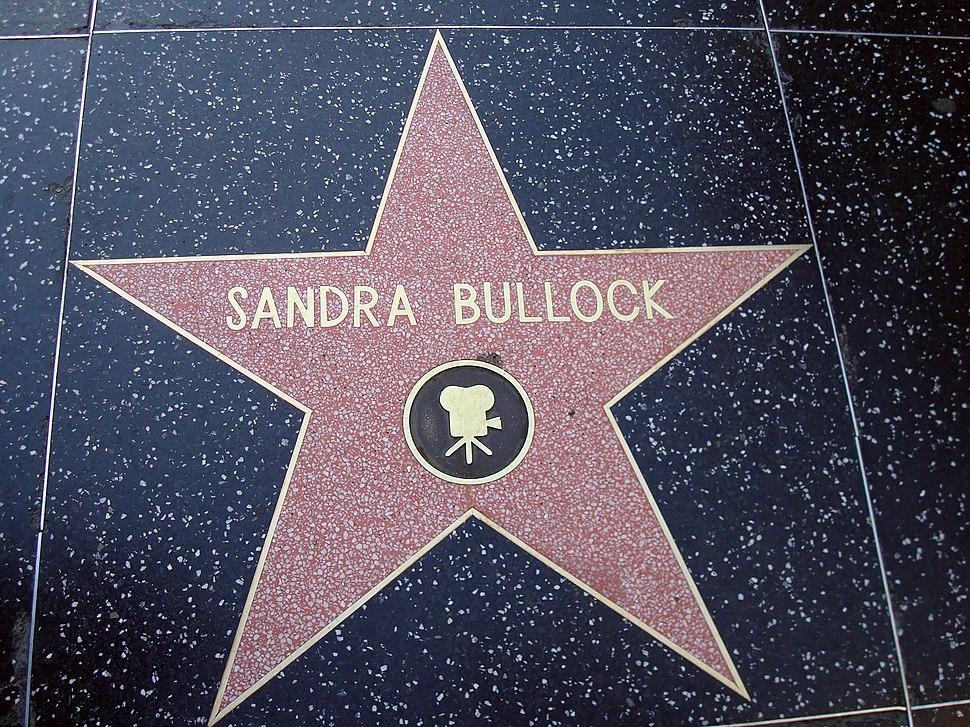 Sandra Bullocks Star on the Hollywood Walk of Fame