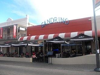 Restaurant - Sandrinos restaurant in Fremantle, Western Australia