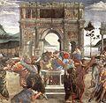 Sandro Botticelli,The Punishment of Korah (detail 1).jpg