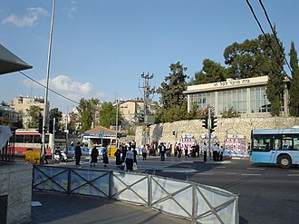 Route 436 (Israel) - Beit HaHayyim Square