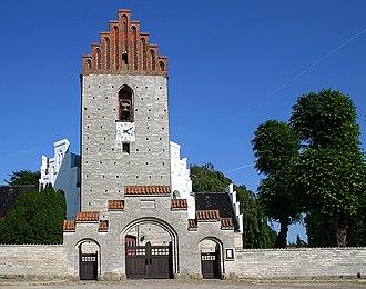 Stevns Municipality - Image: Sankt Katharina kirke store heddinge