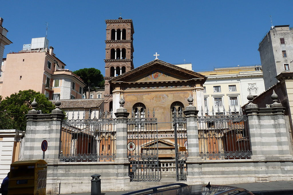 Santa Pudenziana - Roma - exterior.JPG