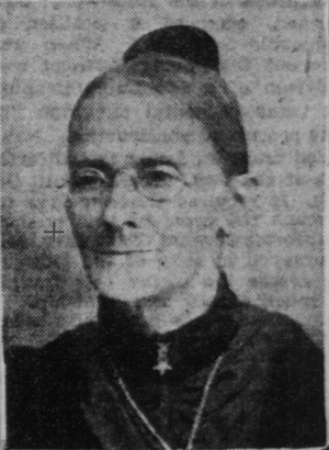 Sarah Palmer Young - Palmer, from a photograph published in 1903
