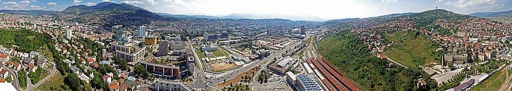 Панорама Сараева