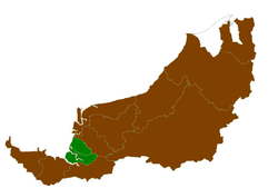 Location of Betong