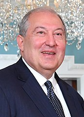 Amtierender Staatspräsident Armen Sarkissjan