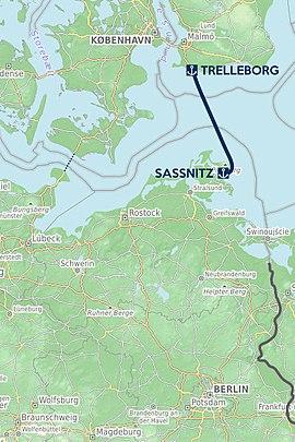 Fähre sassnitz trelleborg fahrplan 2020