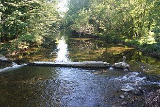 Saucon Creek - Saucon Creek in Hellertown.