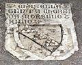 Scavi di santa reparata sotto il duomo di firenze, lastra tombale di casella e giunta corsi da morello.JPG