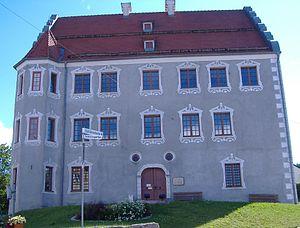 Ballmertshofen Castle - Image: Schloss Ballmertshofen
