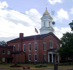 Schuyler County, New York - Image: Schuyler County Courthouse Watkins Glen