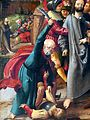 Schwabach Stadtkirche - Hochaltar Gemälde Passion Judaskuss 3 Malchus.jpg
