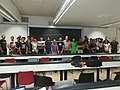 Science technology society and Wikipedia Doctorate course group photo 05.jpg