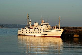 Penzance - Scillonian III docked in Penzance Harbour