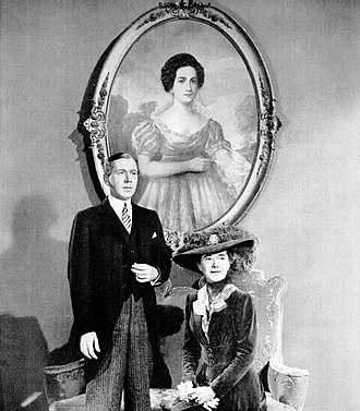 Wilson (1944 film) - Alexander Scourby and Ruth Nelson