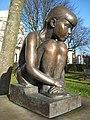 Sculpture in Gorsedd Gardens, Cardiff - geograph.org.uk - 1131606.jpg