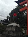 Sculpture of Fox in Fushimi Inari Grand Shrine 2.jpg