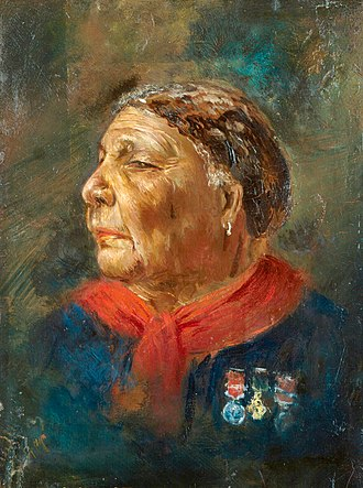 Mary Seacole - A portrait of Seacole, c. 1869, by Albert Charles Challen.