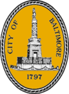 Official seal of City of Baltimore