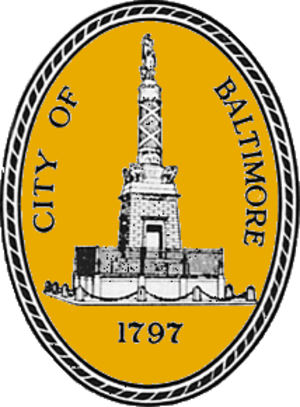 J. Barry Mahool - Image: Seal of Baltimore, Maryland