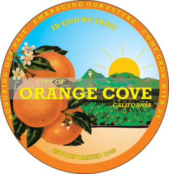 Orange Cove, California - Image: Seal of Orange Cove, California