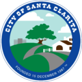 Seal of Santa Clarita, California (2000).png