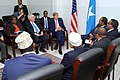 Secretary Kerry Sits with President Hassan Sheikh Mohamud, Prime Minister Omar Abdirashid Ali Sharmarke, and Three Regional Leaders in Somalia (17192987638).jpg