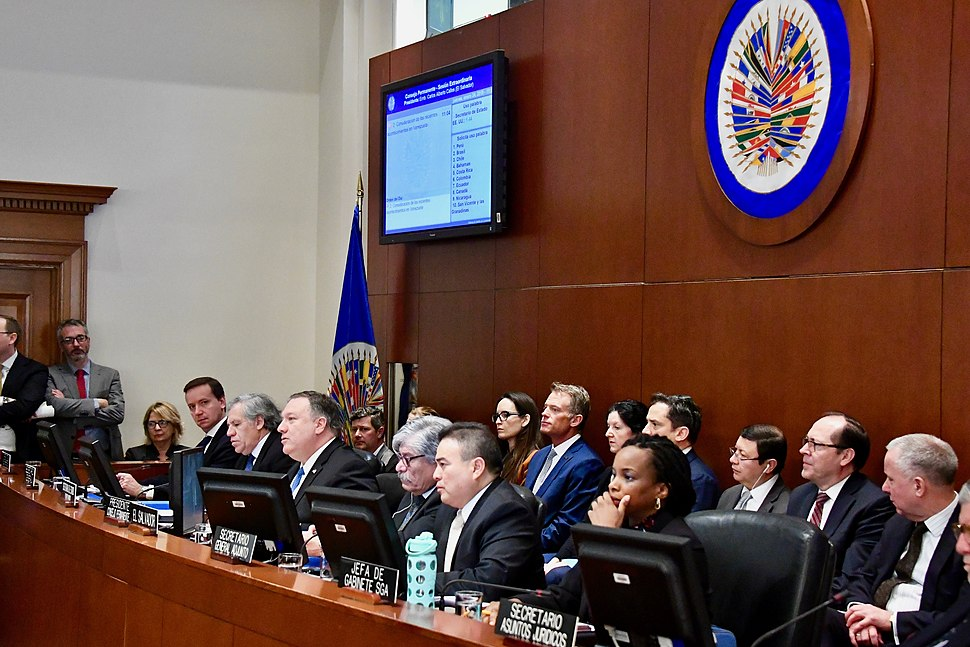 Secretary Pompeo Delivers Remarks at the Organization of American States Headquarters (46863388441)
