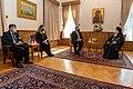 Secretary Pompeo Meets with Ecumenical Patriarch Bartholomew I (50617547228).jpg
