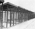 Security cages where Ezra Pound was held, Pisa, Italy, 1945 (2).JPG