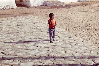 Ethnic groups in Senegal - Senegalese boy in Gore Island