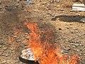 Sept tonnes de drogues incinérées à Dio, Mali 03.jpg