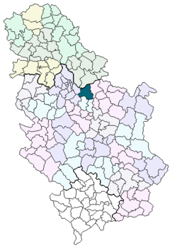karta srbije smederevo Smederevo (općina) – Wikipedija karta srbije smederevo