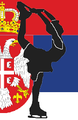 Serbia figure skater pictogram.png
