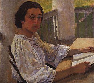 Zinaida Serebriakova - The Artist's Sister, 1911