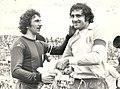 Serie A 1974-75, Lazio vs Bologna, Savoldi (I), Chinaglia.jpg