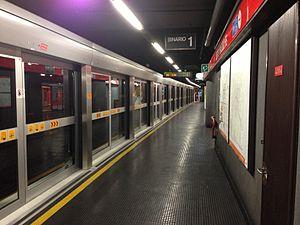 Sesto 1º Maggio (Milan Metro) - Image: Sesto FS M1 binario 1