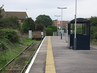 Severn Beach railway station - Image: Severn Beach station